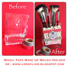 Halloween Washi Tape Ideas by 25 Brilliant And Easy Diy Makeup Storage Ideas U2013 Cute Diy Projects