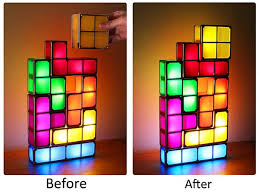 Tetris Stackable Led Desk Light by Head Back To The 80s With This Super Cool Stackable Usb Led Tetris