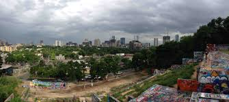 100 Austin City View The View From Graffiti Park Today After The Rain