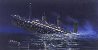Titanic Sinking Animation Real Time by Felixstowe Dockers On 105th Anniversary Of Titanic Sinking You