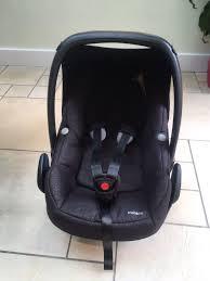 maxi cosi pebble modern black used maxi cosi pebble car seat modern black in nn4