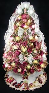 Victorian Tabletop Mini Christmas Tree