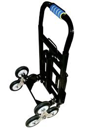 1Set Stair Climber Hand Truck Solid Rubber Tires 440LBS Barrow ...