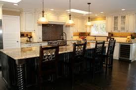 Kitchen Backsplash Ideas With Dark Oak Cabinets by Kitchen Mesmerizing White Oak Cabinets With Dark Floors Honey