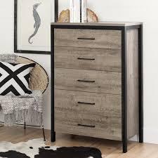 south shore furniture munich weathered oak laminated particleboard