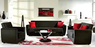 Red Brown And Black Living Room Ideas by Stylish Red And Black Living Room Decor Red Decor Red And Black