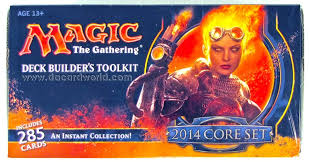 Magic The Gathering Deck Builder Toolkit 2017 by Magic The Gathering 2014 Core Set Deck Builders Toolkit Box Da