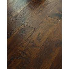 Engineered Hardwood Floor Thickness Hand Scraped Old City Hickory Flooring Sq At The Home