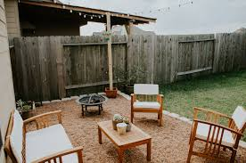 DIY Pea Gravel Patio — Signed Taylor Add Outdoor Living Space With A Diy Paver Patio Hgtv Hardscaping 101 Pea Gravel Gardenista Landscaping Portland Oregon Organic Native Low Maintenance Pea Gravel Rustic With Firepit Backyard My Gardener Says Fire Pits Inspiration For Backyard Pit Designs Area Patio Youtube 95 Ideas Bench Plus Stone Playground Where Does 87 Beautiful Yard In Your How To Make A Inch Round Rock And Path Best River 81 New Project