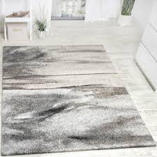 teppich wohnzimmer webteppich grau beige
