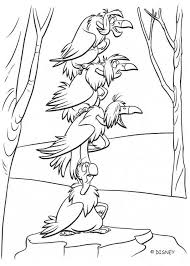 VULTURES Of The Jungle Coloring Page Color Online Print