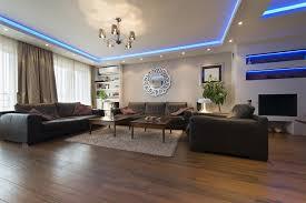 wohnzimmer mit led beleuchtungskonzept aufwerten