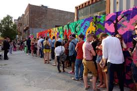Big Ang Mural Chicago by Absolut Open Canvas Art Event In Brooklyn Malinda Knowles