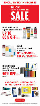 In-Store Promotions | BLICK Art Materials Gbc Group Discount Codes 10 Hobby Lobby Teacher Tips Paint Supply Coupon Dick Blick Galesburg Liquid Leggings Winebuyercom Mission Escape Exeter Code Psu Student Blick Art Materials Untitled Dick Tumblr Posts Tumbralcom Best Black Friday Deals For Designers And Artists 2019 Waterworld Ncord Coupons 4th Of July Used Car Sstack Att Go Phone Refil