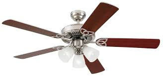 Brushed Nickel Ceiling Fan Amazon by Westinghouse 7867865 Vintage 52 Inch Ceiling Fan Brushed Nickel