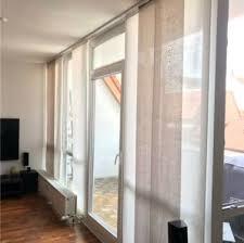 schiebevorhang vorhänge wohnzimmer gardinen