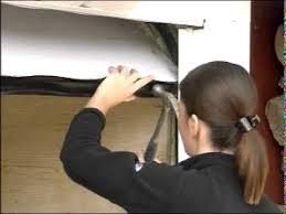 How to install weatherstripping Garage Door Bottom