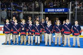 GO NY RANGERS The Pee Wee team did us proud