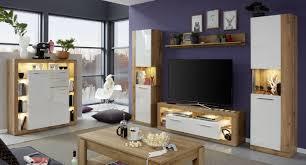 highboard kommode weiss hochglanz eiche wotan wohnzimmer
