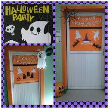 Halloween Classroom Door Decorations by Home Accessories Lovely Diy Happy Halloween Door Decorations