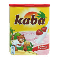 1x 400g kaba erdbeer