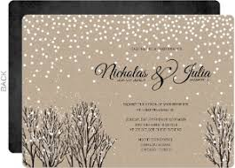 Christmas Wedding Invitations Themed