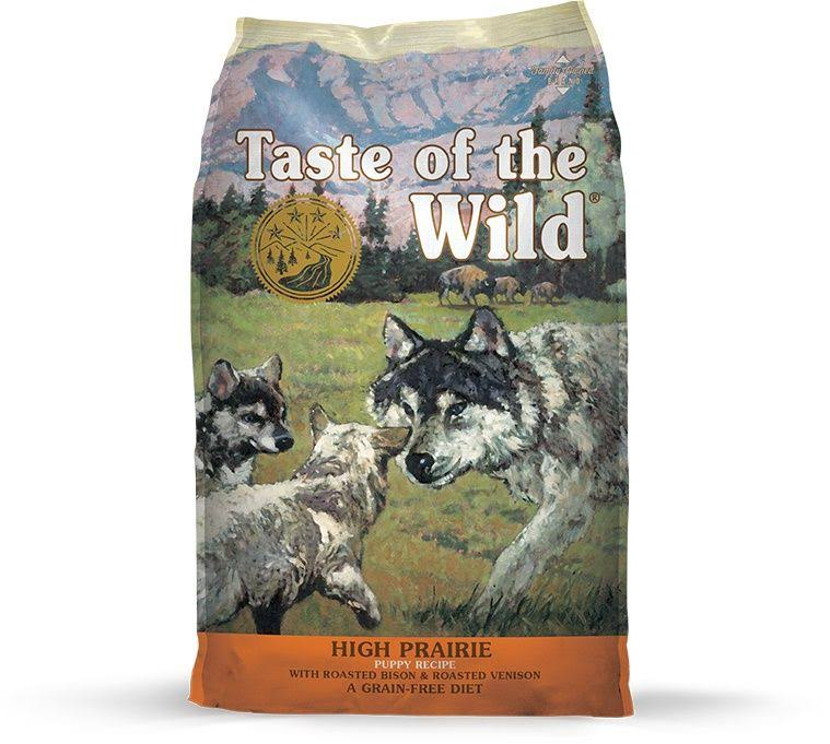 Taste of the Wild Puppy Food - High Prairie, Grain Free, with Bison, 5lb
