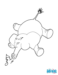 Elephant Trumpets Coloring Page If You Like The Will Find So Much More Sheets For Free