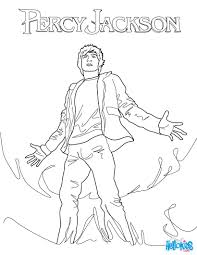 The Lightning Thief Coloring Page