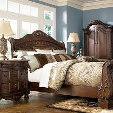 north shore sleigh bed millennium furniturepick