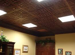 Sheetrock Ceiling Tiles Home Depot by Drop Ceiling Tile Metal Suspended Ceiling Tile 24 Linear Tegular