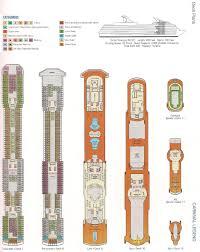 Carnival Splendor Panorama Deck Plan by Carnival Cruise Deck Plan Legend Tweet Uncategorized Unique Cabin