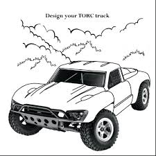Coloring Pages Race Cars Nascar Impressive Truck Car Page Free Printable Driver Large Size