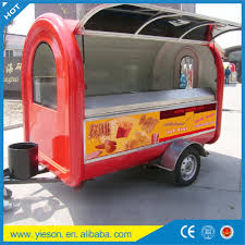 Concession Mobile Catering Trucks/mobile Snack Car/yieson Mobile ...