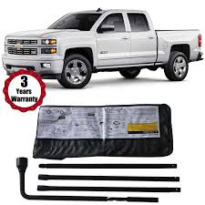 100 Truck Tools Spare Tire Lug Wrench Tool Kit For Chevy GMC Pickup SUV