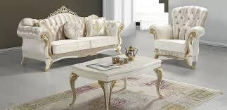 casa padrino barock wohnzimmer set chagnerfarben creme gold 2 sofas 2 sessel 1 couchtisch wohnzimmer möbel edel prunkvoll