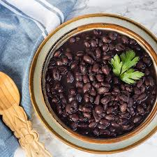 Cooked Black Beans Ready To Dish Out For How Cook In