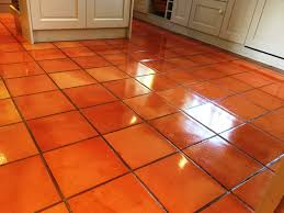 terracotta kitchen tiles given new lease of in kingston upon