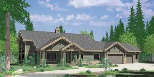 3 Bedroom Ranch Floor Plans Colors Ranch House Plan Featuring Gable Roofs