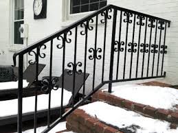 Iron Railing – Iron Crafters, LLC Wrought Iron Stair Railings Interior Lomonacos Iron Concepts Wrought Porch Railing Ideas Popular Balcony Railings Modern Best 25 Railing Ideas On Pinterest Staircase Elegant Banisters 52 In Interior For House With Replace Banister Spindles Stair Rustic Doors Double Custom Door Demejico Fencing Residential Stainless Steel Cable In Baltimore Md Urbana Def What Is A On Staircase Rod Rod Porcelain Tile Google Search Home Incredible Handrail Design 1000 Images About