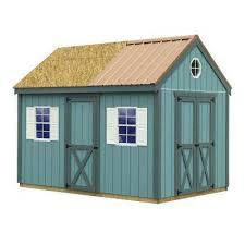 Derksen Best Value Sheds by Best Barns Wood Sheds Sheds The Home Depot