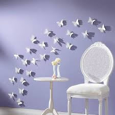 Ideas For Modern Wall Decoration With Butterflies