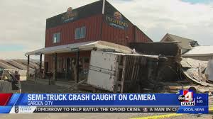 Semi-truck Caught On Camera Crashing Into Building, Owners Say It's ... 2018freightlinscadiasemictortrailer The Fast Lane Truck Semi Lettering Decals And Graphics Phoenix Az Tesla Questions Incorrect Assumptions Answered Now Elon Musk Predicts Semis Will Oblirate The Railway Industry Pheasantcom Blog Semitrucks Deliver More Pheasants Hydrogenpowered Toyota Semitruck Makes 1325 Lbft Of Torque Rtr 2018 Unbelievable Sleeper Cab On This Semi Truck Tour Why Teslas Electric Is Toughest Thing Has Worlds First Selfdriving Hits Road Wired Protype Spotted Apparently Broken Down Makes Nsayers Used Trucks For Sale In Oh Ky Il Dealership