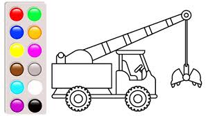 Colors Crane Truck Coloring Pages Construction Vehicles Video For 1 ... Cstruction Trucks Coloring Page Free Download Printable Truck Pages Dump Wonderful Printableor Kids Cool2bkids Fresh Crane Gallery Sheet Mofasselme Learn Color With Vehicles 4 Promising Excavator For Coloring Page For Kids Transportation Elegant Colors With Awesome Of