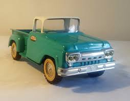 Early Tonka Toys Ford Cab Pick-Up Truck 60's V RARE NMINT 100 ... Vintage 1956 Tonka Stepside Blue Pickup Truck 6100 Pclick Buy Tonka Truck Pick Up Silver Black 17 Plastic Pressed Toyota Made A Reallife And Its Blowing Our Childlike Pin By Curtis Frantz On Toys Pinterest Toy Toys And Trucks Tough Flipping A Dollar What Like To Drive Lifesize Yeah Season Set To Tour The Country With Banks Power Board Vintage 7 Long 198085 Ford Rollbar Chromedout Funrise Mighty Motorized Garbage Walmartcom