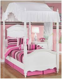 Twin Metal Canopy Bed Pewter With Curtains by Bedroom White Lacquer Oak Wood Canopy Bed Using White Curtain