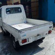 100 Hijet Mini Truck Dahiatsu 4WD Minivan With Air Conditioning N860K 84 SERVICES