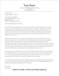 Front Desk Resume Cover Letter by 100 Cover Letter Front Desk Office Cover Letter Resume Cv
