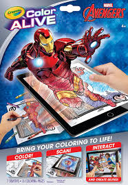 Crayola Bathtub Crayons 18 Vibrant Colors by Amazon Com Crayola Avengers Color Alive Action Coloring Pages