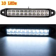 LED Daytime Running DRL Side Marker Light Bar Lamp Car Truck Trailer ... 7 Inch 144w 24 Led Work Light Bar Spot Beam Car Driving Lamp For Off Led Lightbar With 2 Color Strobefunction Goinstylenl Ijdmtoy 20 Strobe Perfect For Cstruction Truck Peterbilt Bumper Tp1704lf Semi Parts And Accsories F150 60 In Blade Tailgate Hightech Lighting Rigid Industries Adapt Recoil Custom Trucks Georgia Rocky Ridge Raxiom 50 Straight Roof Mounting Bracket Daytime Running Drl Side Marker Trailer Megulla 2row Strip Redwhite Reverse 30 Single Row Ford Bronco F Series